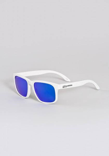 Bayerische Holz-Sonnenbrille von Aloha BAVARIA weiß