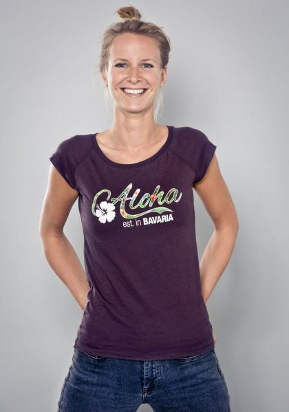 Bayerisches Shirt Frauen established in Bavaria von Aloha BAVARIA