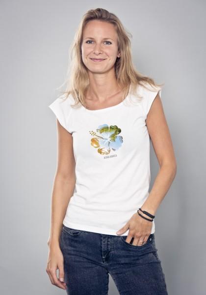Bayerisches Shirt Frauen Hibiskus von Aloha BAVARIA