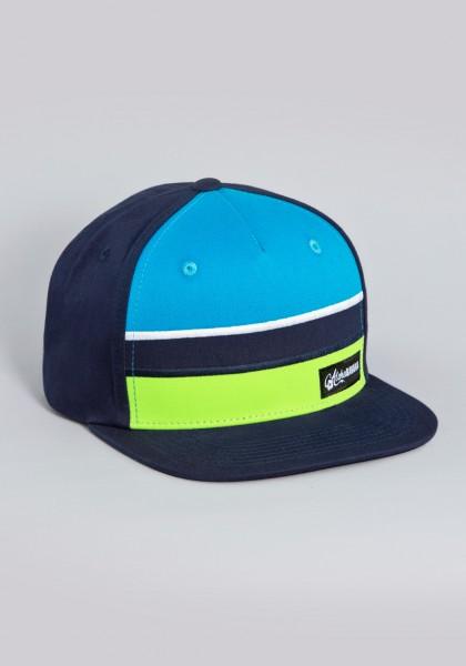 Bayerisches Snapback Cap von Aloha BAVARIA Stripes