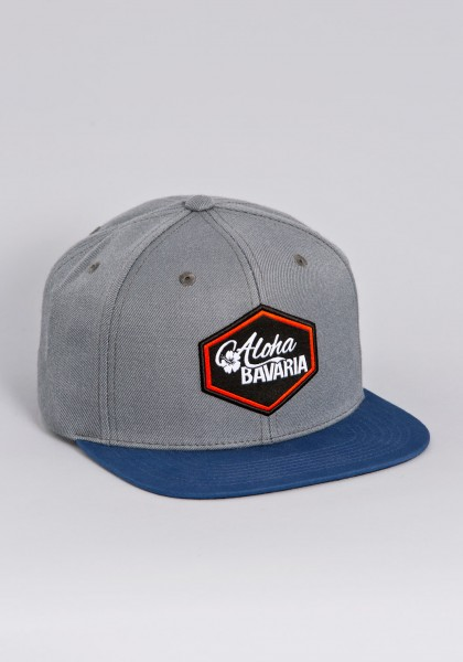 Bayerische Snapback Cap von Aloha BAVARIA Hexagon